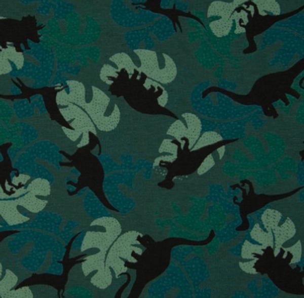 Bilde av Dinosaurer og blader, grønn