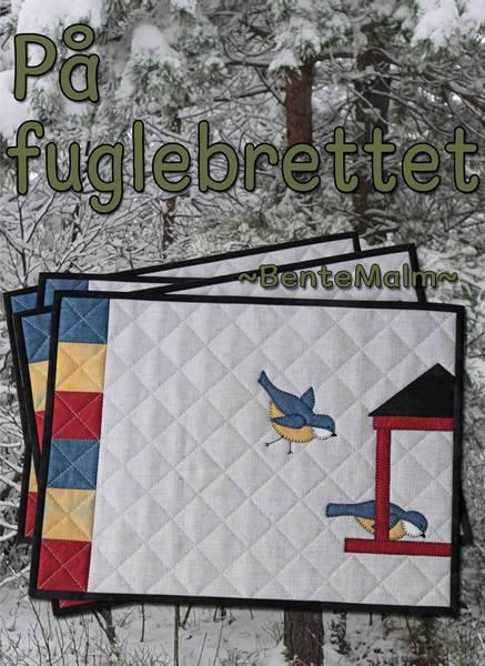 Bilde av 260 Bente Malm Mønster - På fuglebrettet