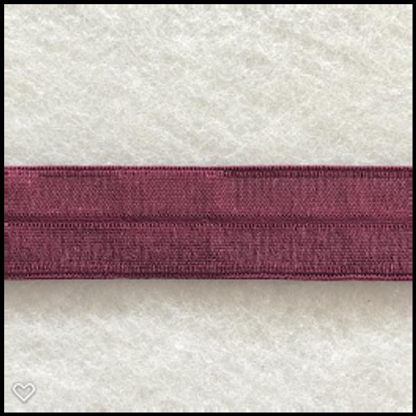 Bilde av Folde-elastikk 19mm bordeaux, 31112-1441