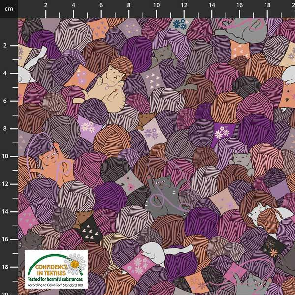 Bilde av Knitting Nook purple, 4501-621