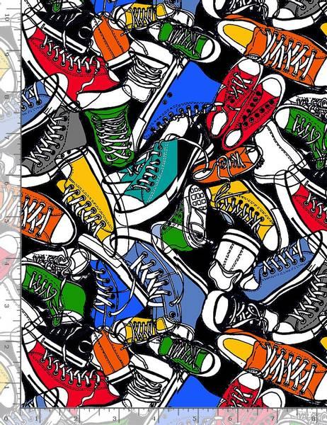 Bilde av TIMELESS TREASURE High Top Sneakers,  GAIL-C5522 BRITE