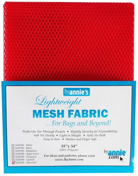 Bilde av By Annie's Mesh fabric SUP209 - Atom Red