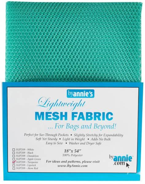 Bilde av By Annie's Mesh fabric SUP209 - Turkis