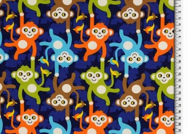 Bilde av Hengende aper - blå