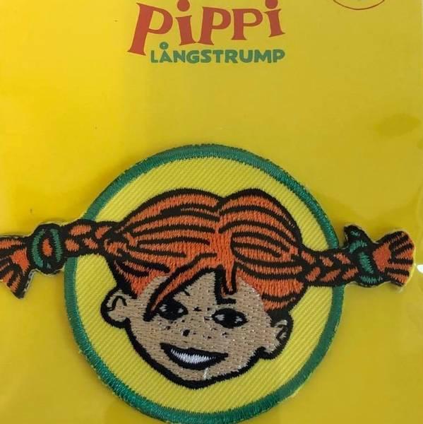 Bilde av Pippi portrett, strykemerke diam. 5cm