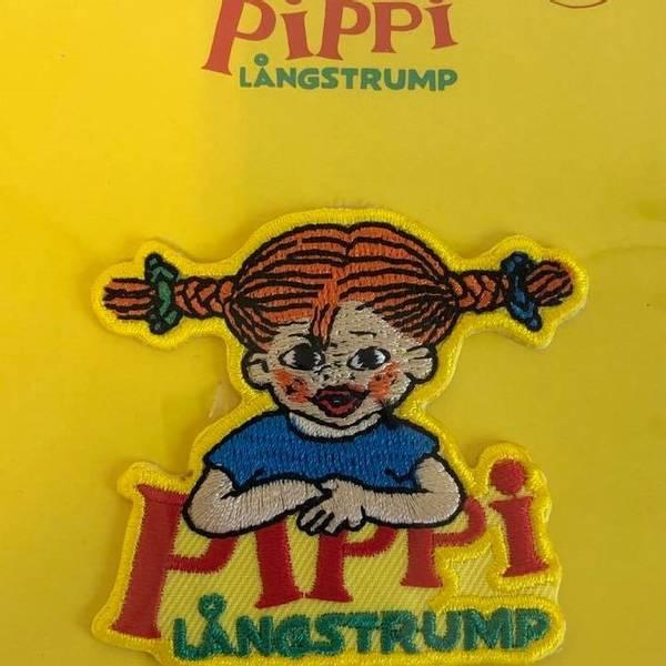 Bilde av Pippi Langstrømpe, strykemerke 6x5cm
