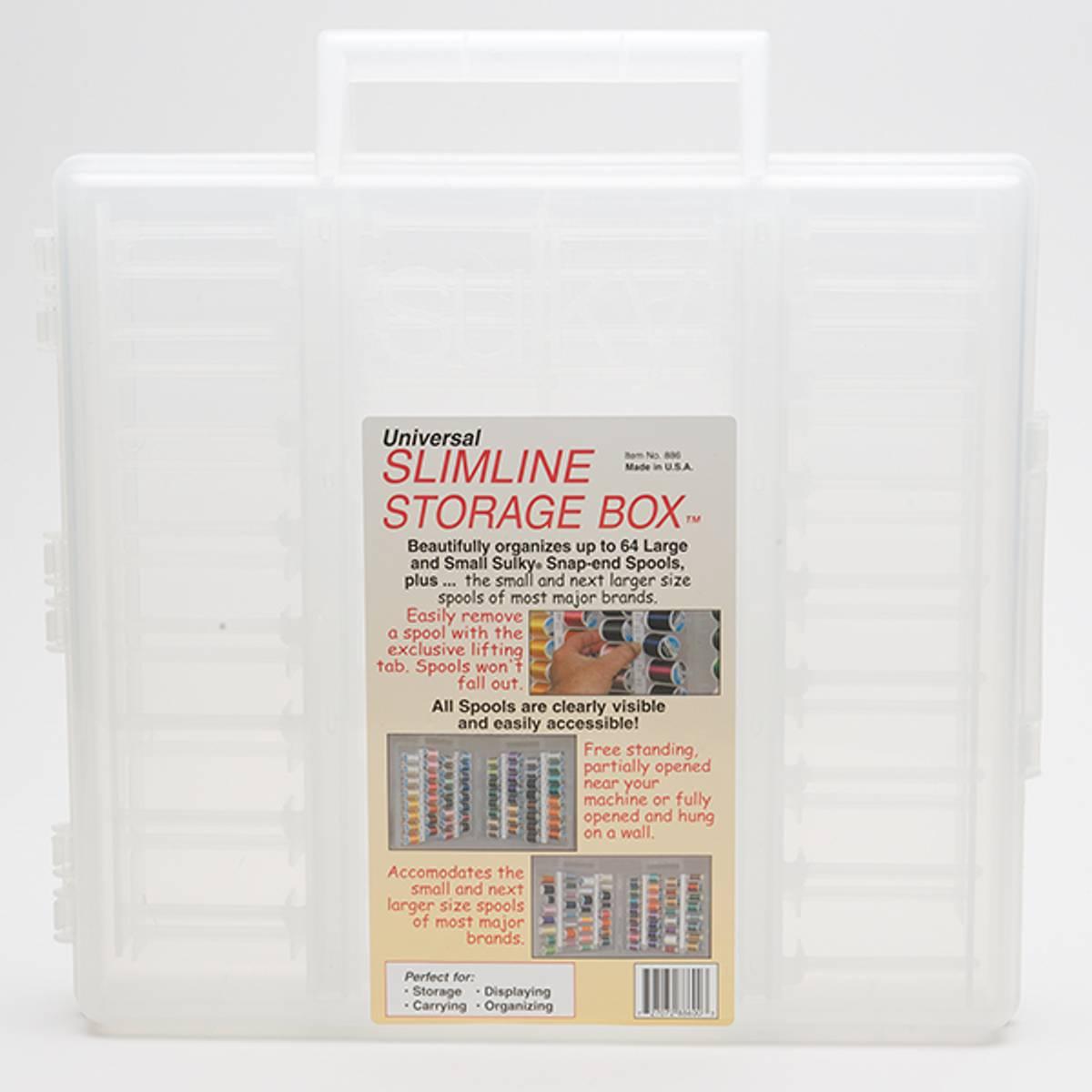 Slimline Sulky original boks for 64 spoler 500m TOM