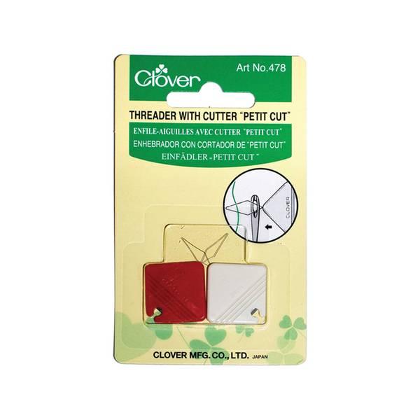 Bilde av Clover nålitreder med kutter 2 pakk art 478