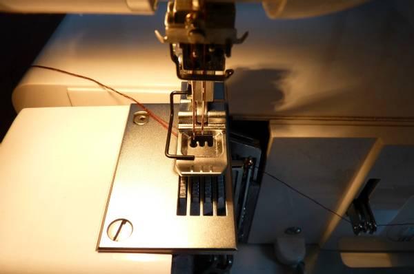 Bilde av (21B5) Binder foot for 3 needle CSM  (til 795845000)