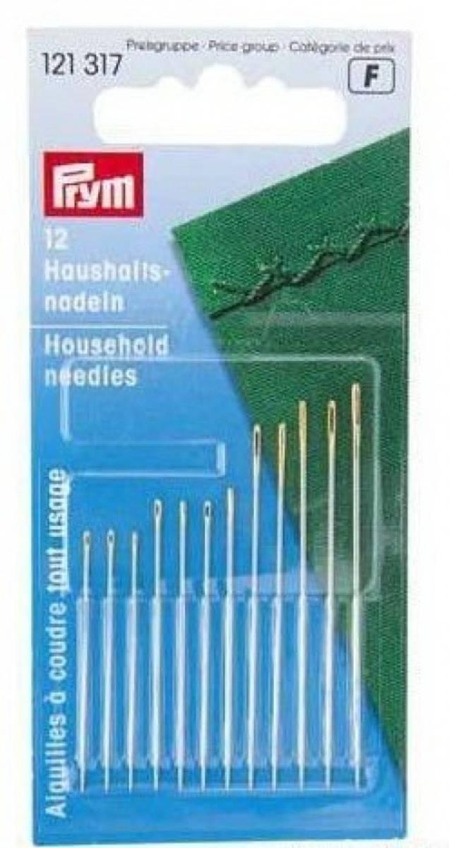 (S) Prym Husholdningsnåler - 12stk, ass. 121317