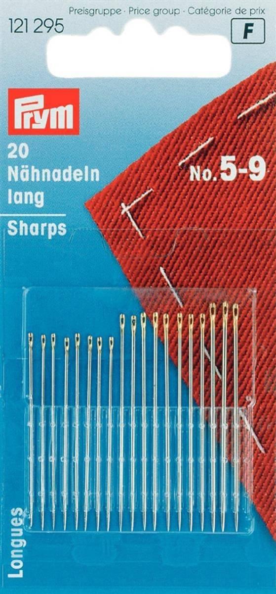 Prym Synåler Sharps No.5-9 - 20stk 121295