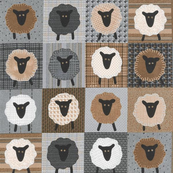 Bilde av Moda Fabrics Farmhouse Flannels II, 49108 12f