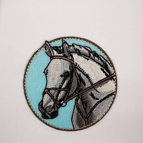 Bilde av Hest strykemerke 6cm