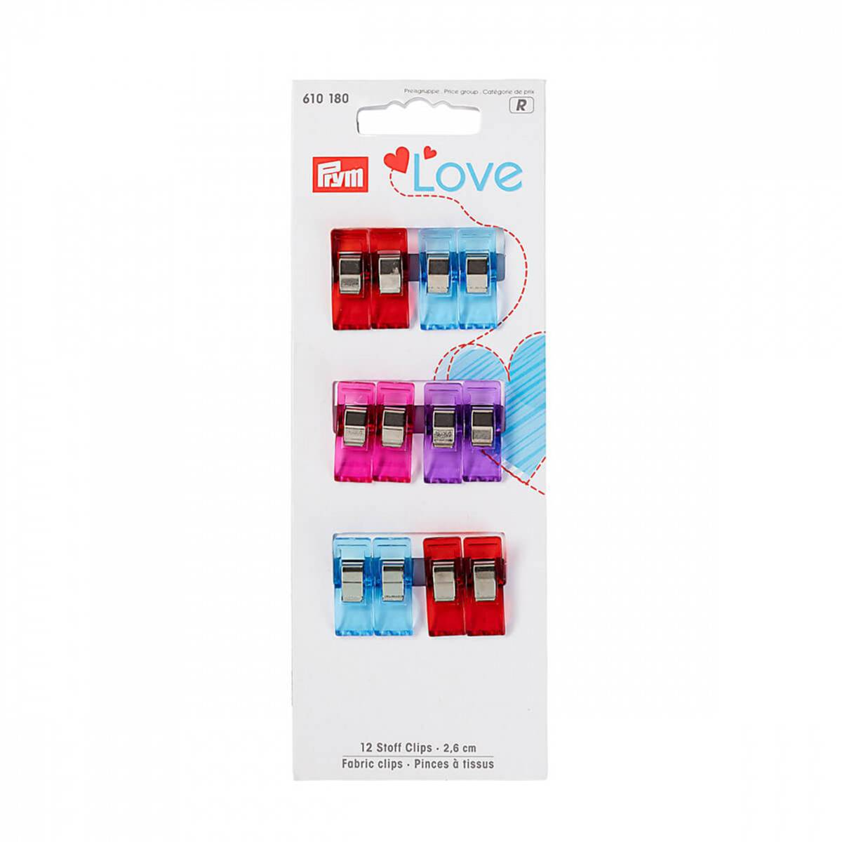 Prym Love 12 clips 610180