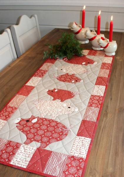 Bilde av 141 Nøffelig Jul AnnaKa Mønster - Kr. 160,-