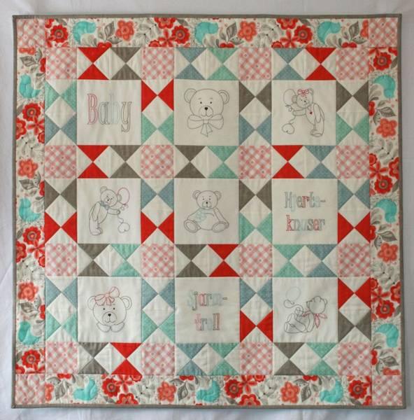 Bilde av 134 Baby AnnaKa Mønster - Kr. 160,-