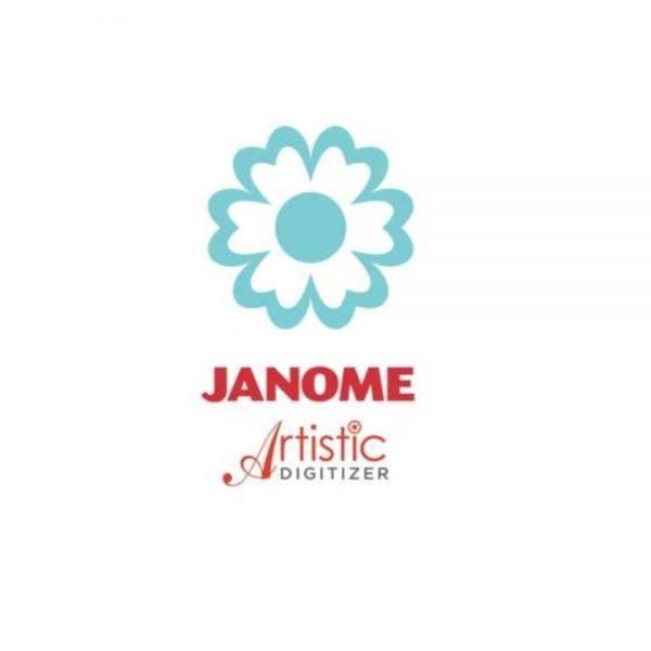 Bilde av (20B2) Janome Artistic Digitizer versjon 1.5 Full versj Mac/Win