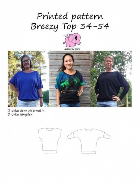 Bilde av IKKE I BRUK-Made by Runi - Breezy Top str.34-54