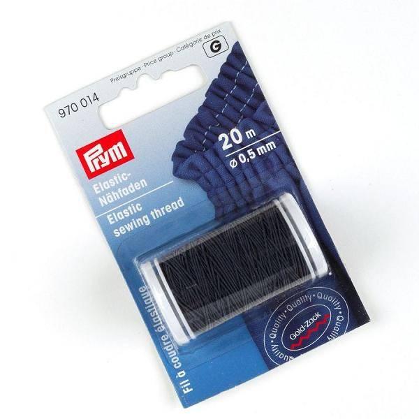 Bilde av Prym Elastisk sytråd, 20Mx0.5MM, mørk blå, 970014
