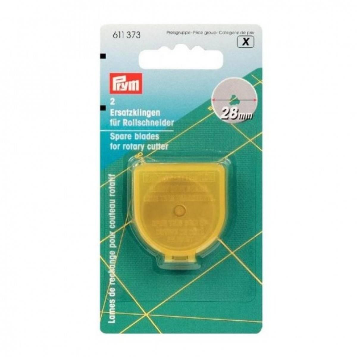 PRYM ekstra blad rullekniv 28 mm 2pakk 611373