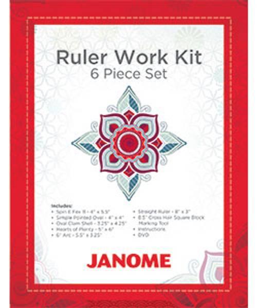 Bilde av Janome Ruler Work Kit 6 piece set