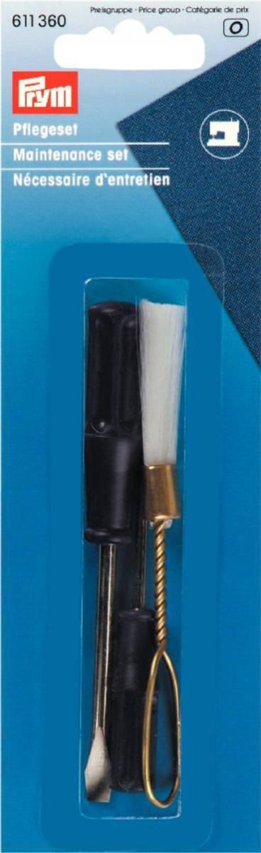 Prym symaskin reperasjonsett skrujern x2 og børste 611360
