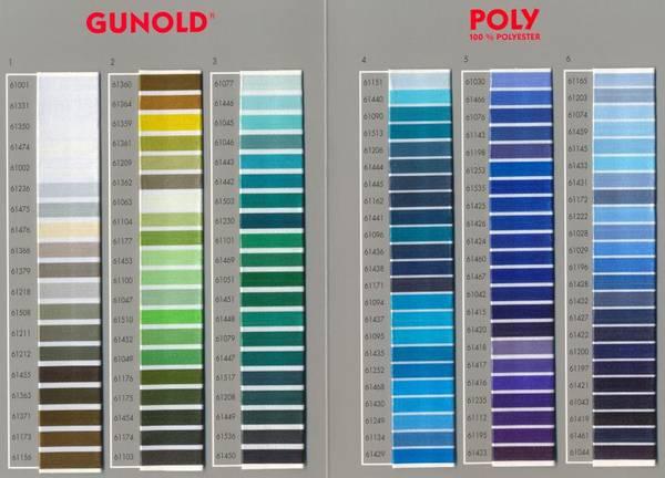 Bilde av Fargekart Poly