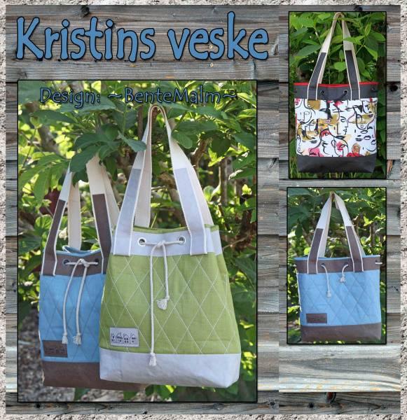 Bilde av 200 Bente Malm Mønster Kristins veske