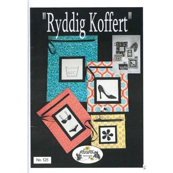 Bilde av 125 Ryddig Koffert AnnaKa Mønster - Kr. 160,-