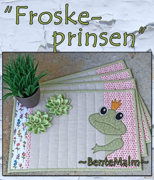 Bilde av 194 Bente Malm Mønster Froskeprinsen