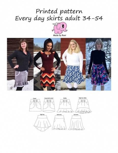 Bilde av Made by Runi - Every Day Skirt, str 34-54
