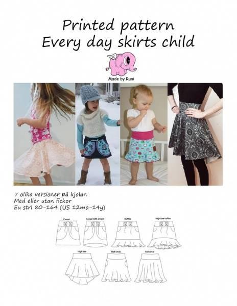 Bilde av Made by Runi - Every Day Skirt, str 80-164