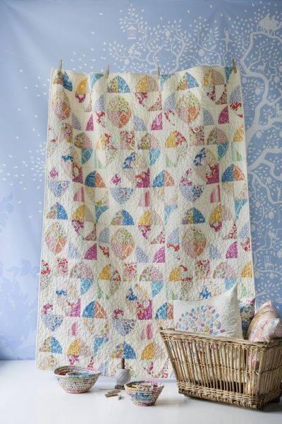 Bilde av Tilda Lemonade Quilt mønster