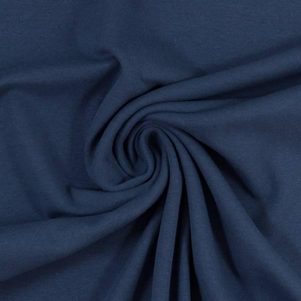 Bilde av Heike Rundstrikket ribb 000744 plain, denim blue