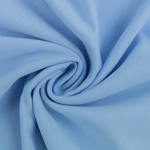 Bilde av Maike, French Terry 000154 Plain, sky blue