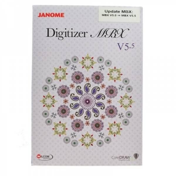 Bilde av Janome Digitizer MBX v5.5 oppgradering fra v5.0