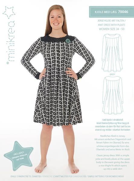 Bilde av Minikrea kjole med legg str 34-50 70046