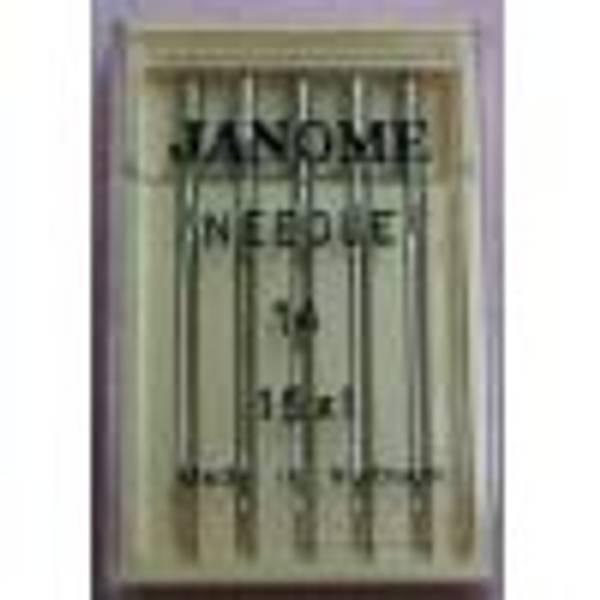 Bilde av (4G9) Nåler Standard Janome 80 (us11). 5-pakk 130/705