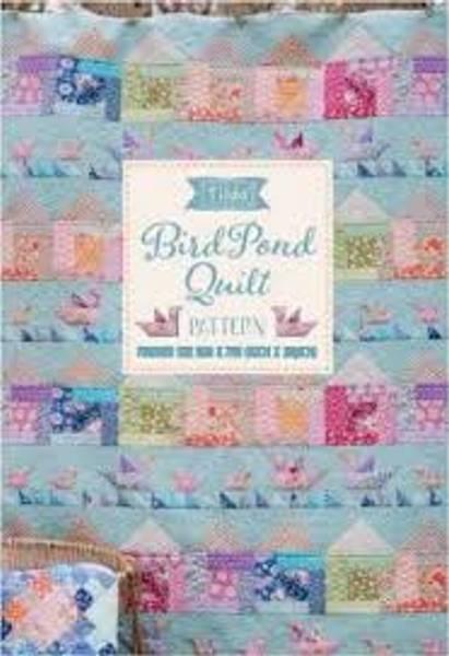 Bilde av Tilda Bird Pond Quilt mønster