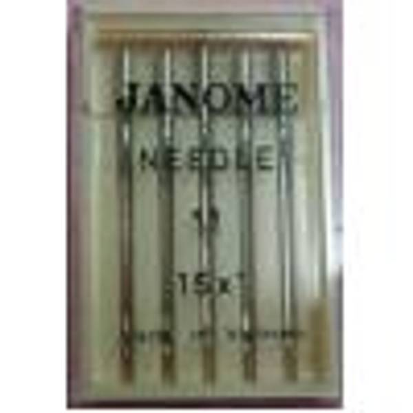 Bilde av (A22) Nåler Standard Janome 70 (us9). 5-pakk 130/705.