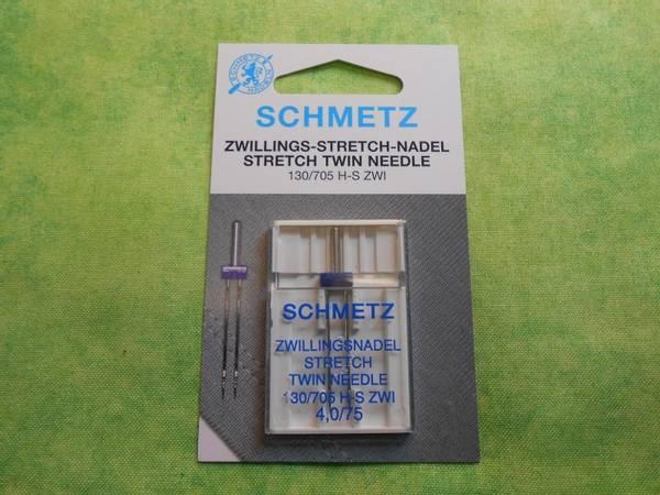 Bilde av (23F35) Schmetz Tvillingnål Stretch 4,0/75