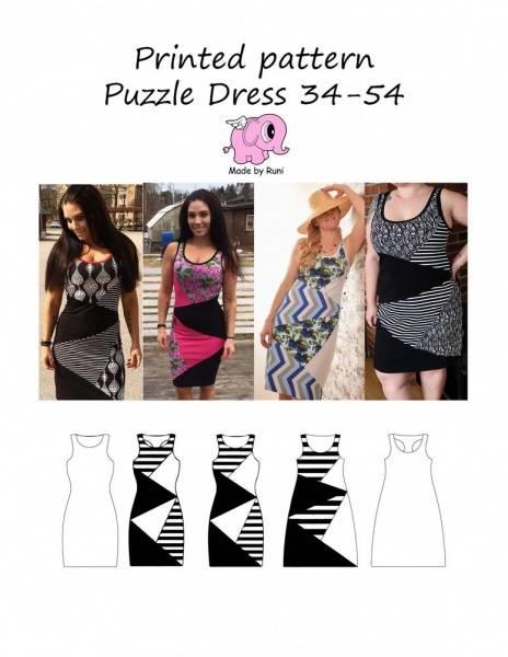 Bilde av Made by Runi - Puzzle Dress 34-54