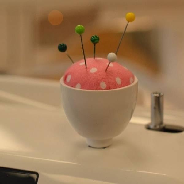 Bilde av (H2) Nålepute rosa / rundt feste Janome