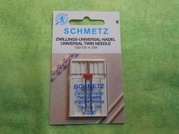 Bilde av (23F33) Nåler Tvillingnål 90 4,0mm H ZWI 130/705 1 pakk SCHM