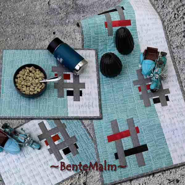 Bilde av 207 Bente Malm Mønster Hashtags-frokost
