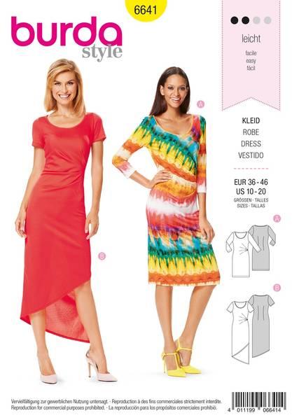 Bilde av Burda Mønster B6641 Women's Dress Sewing