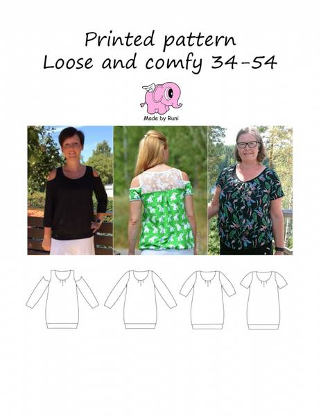 Bilde av Made by Runi - Loose and Comfy 34-54