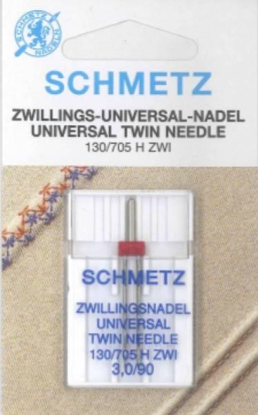 Bilde av (23F37) Nåler Tvillingnål 90 3,0mm H ZWI 130/705 1 pakk SCHM