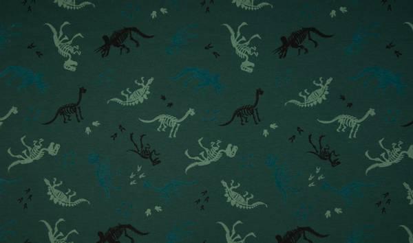 Bilde av Dinosaurskjeletter , mørk grønn