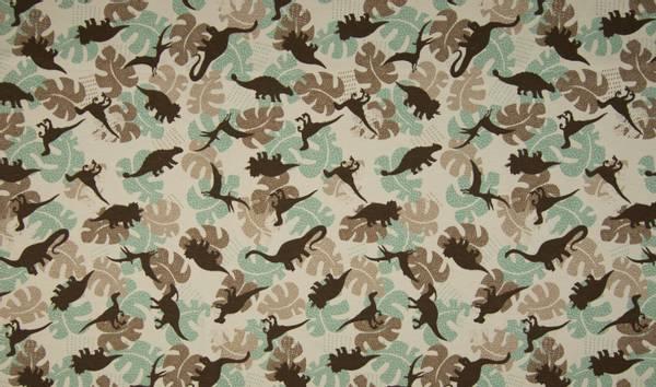 Bilde av Dinosaurer og blader, sand